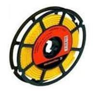 Kabelcodering Teken 0 L= 3 mm Zwart op Geel Rol a 1000 St
