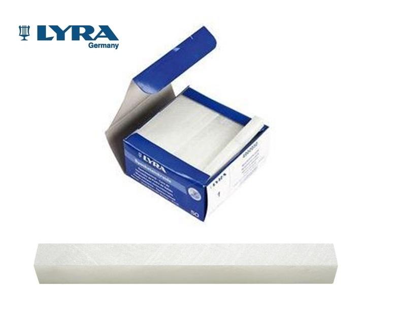 LYRA Speksteenkrijt 10x10x100 mm 1ve= 50 stuks