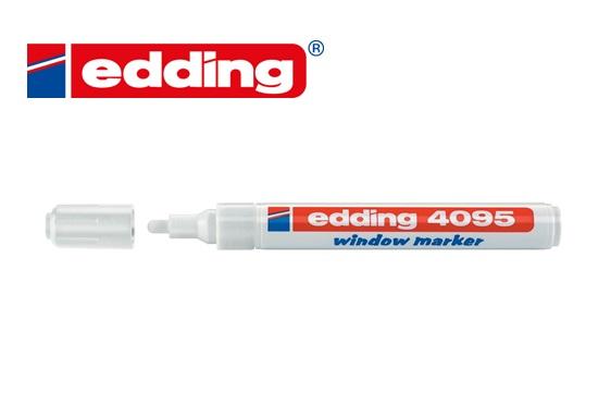Krijtmarker Edding 4095 Wit 2-3 mm