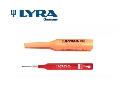 Lyra INK Deep Hole Marker Rood