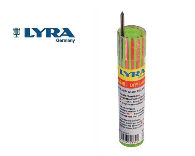 Vullingenset LYRA 12delig 6 st. grafiet telkens 3 st. rood+geel
