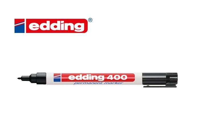 Viltstift edding 400 rond zwart 1mm