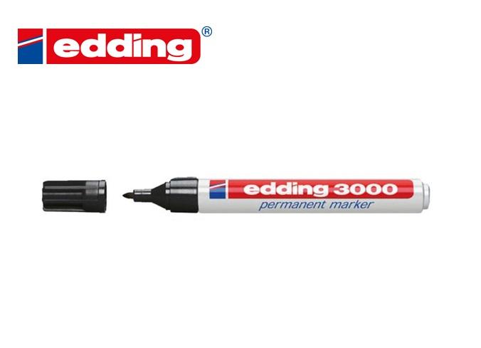 Viltstift Edding 3000 rond zwart 1.5-3mm
