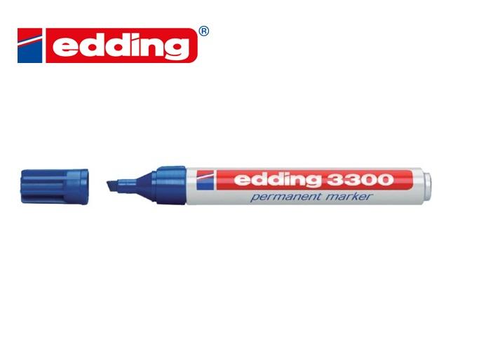 Edding 3300 permanent marker Blauw