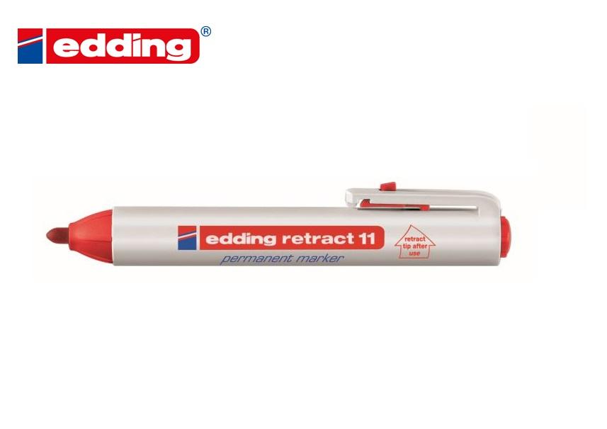 Edding Retract 11 permanent marker Rood