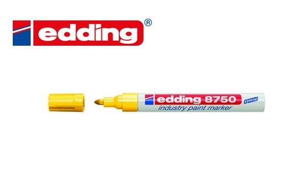 Industrie paint marker Edding 8750 Geel