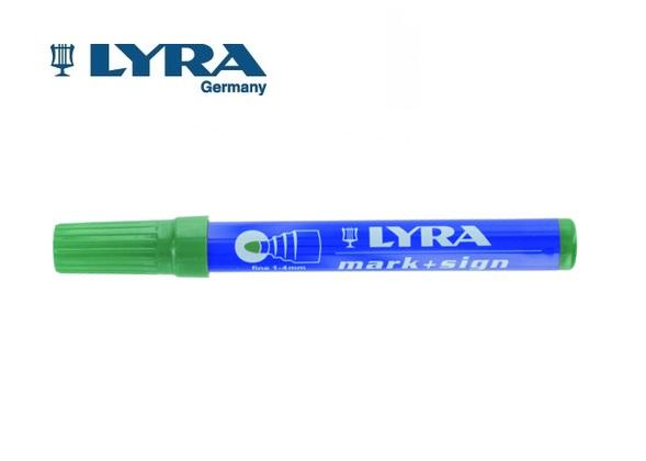 LYRA Merkstift permanent Groen 1-4mm