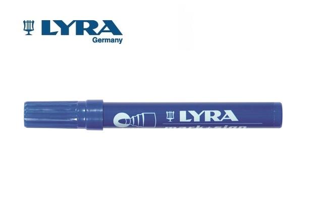 LYRA Merkstift permanent Blauw 2-6mm