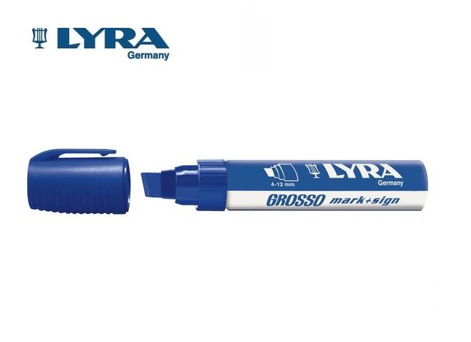 Lyra Grosso viltstift blauw 4-12mm watervast