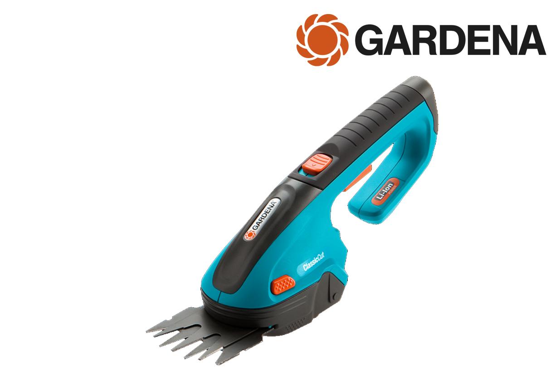 Gardena 8885-20 Classiccut gras en buxusschaar accu