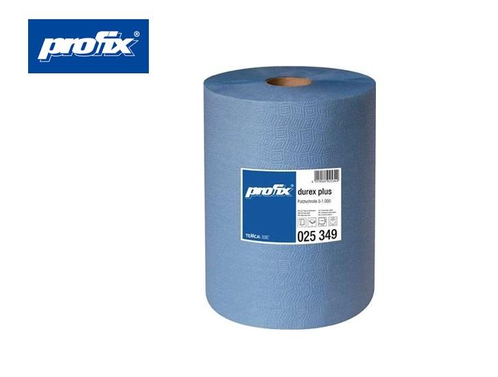 Poetsdoek profix durex plus 360x380mm blauw, 3-laags tussenblad gelijmd