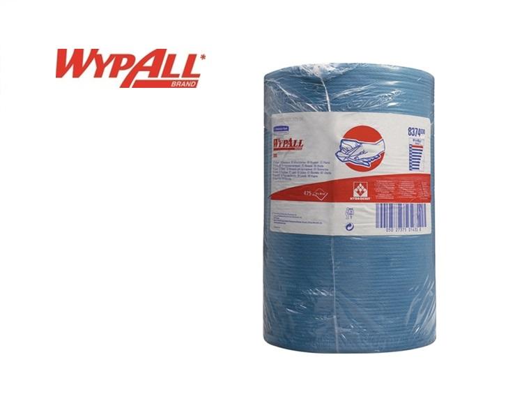 Kimberly Clark Wypall X80 1 laags poetsrol blauw 380x420