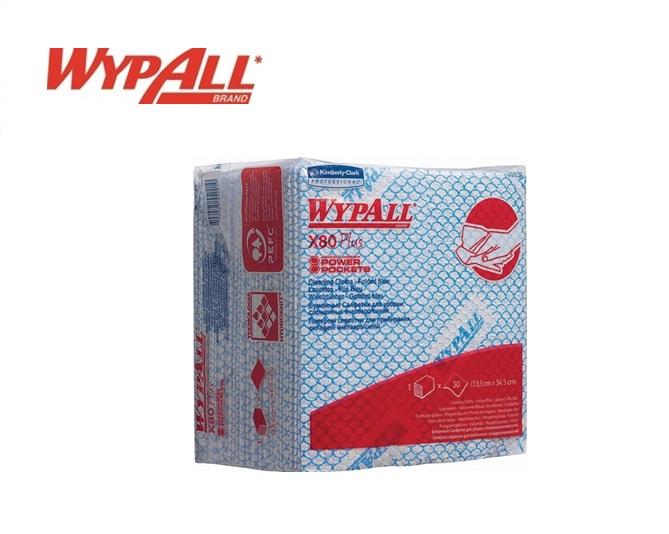 WypAll X80 Plus Sopdoeken 19139 350x340 Blauw