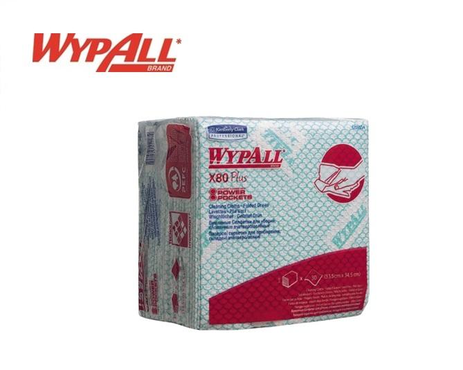 WypAll X80 Plus Sopdoeken 19154 350x340 Groen