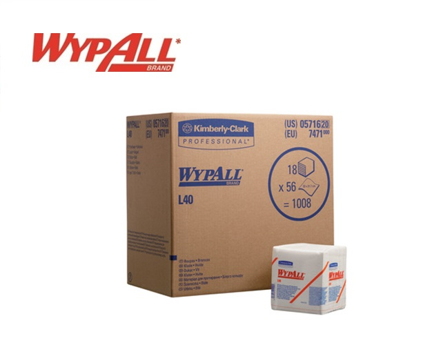 WypAll L40-7471 118x56 (1008) doeken 330x315 mm