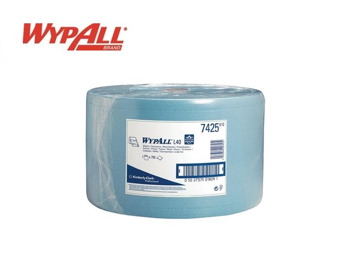WypAll L40 - 7425 Vochtige reinigingsdoekjes - wegwerp 750 vellen 380 x 235mm