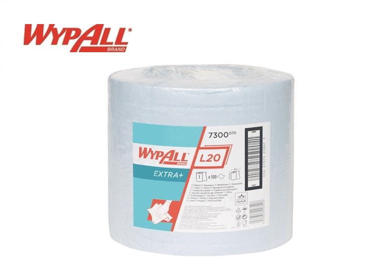 Wypall L20 7300 Poetsdoeken 380x235 2-laags 1 roll x 500 vel