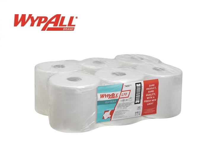 WypAll L20 - Vochtige reinigingsdoekjes 380x 185 wit - pak van 6