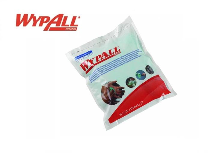 WypAll 7776 Handreinigingsdoeken Navulling - Groen 75 vellen