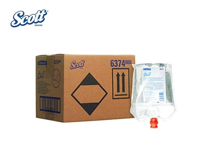 Scott 6374 Reinigingsmiddel voor toiletbril en oppervlakken zak 400 ml tr