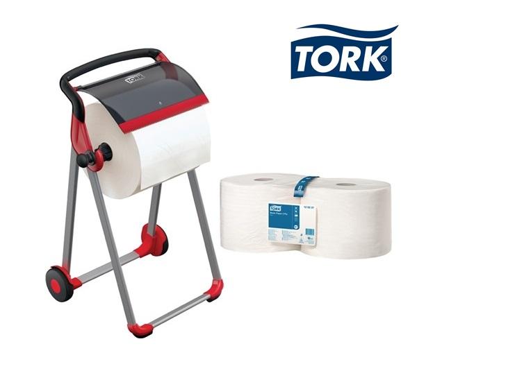 TORK Papierspender-Set Vloerstandaard+4 rollen 1006x646x530mm