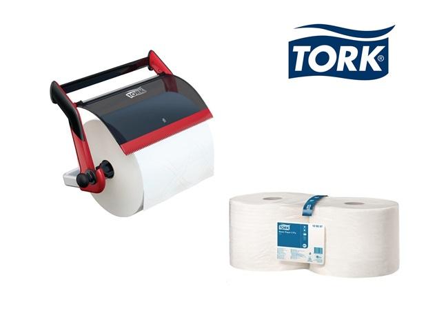 TORK Papierspender-Set wandhouder + 4 Rollen 463x646x274mm