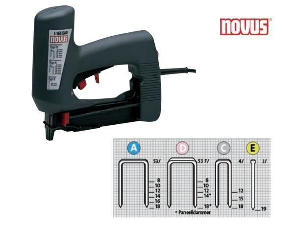 Novus J-165 EAD Elektrische tacker Novus 031-0326