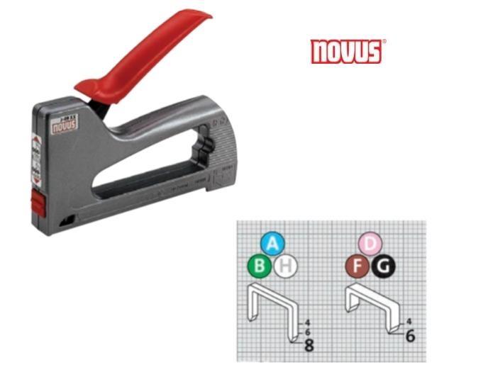 Novus J-09XX Handtacker Novus 030-0408