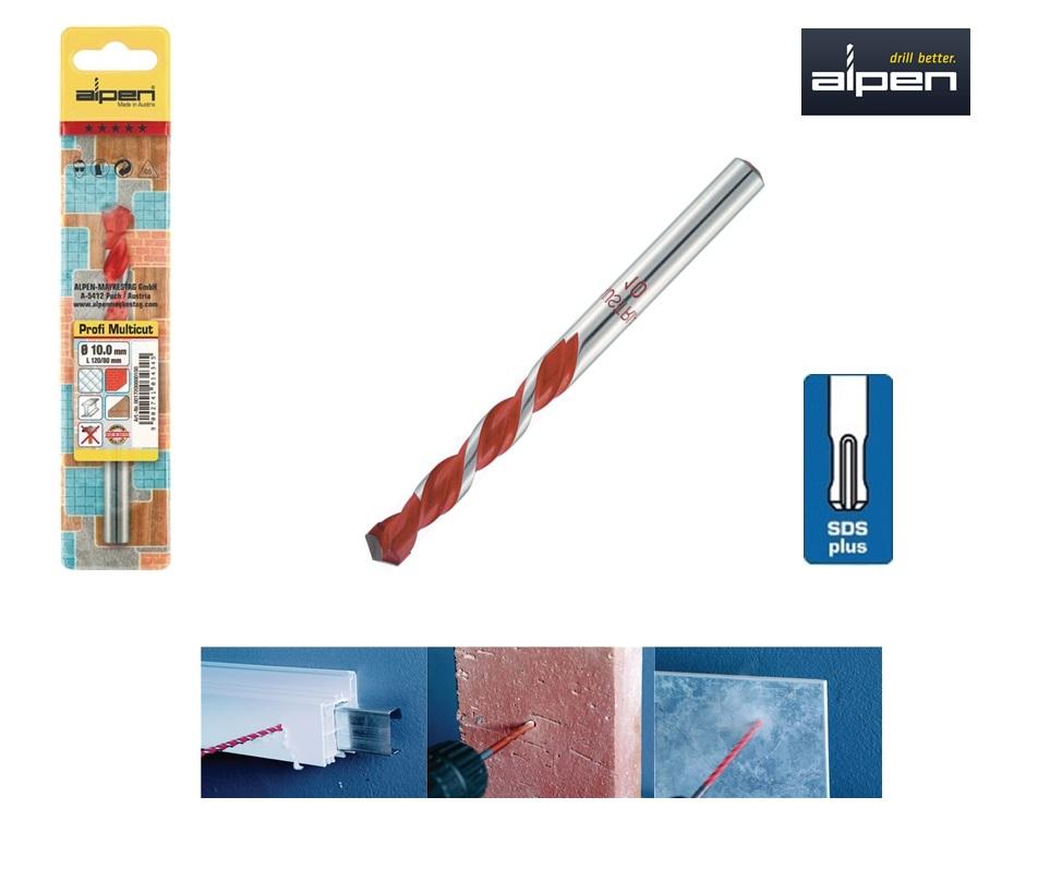 Multifunctionele boor SDS Plus 5x110 mm Alpen 50900600100