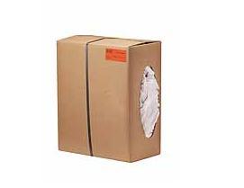Poetsdoeken wit katoen doos à 10kg