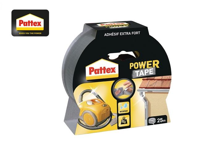 Pattex Textieltape Power-Tape 25mmx50m zilver