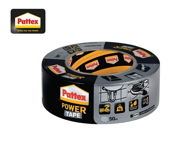 Pattex Textieltape Power-Tape 50mmx50m zilver