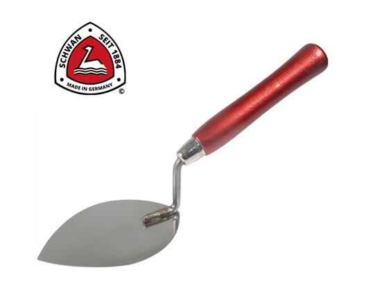 Tegeltroffel spits 160 mm RVS Schwan 129500