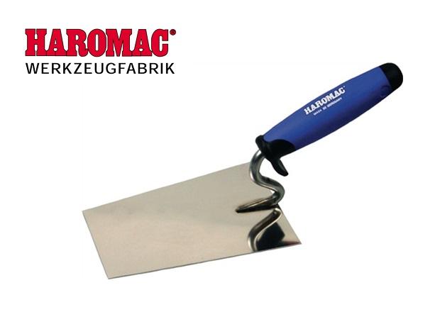 Metselaarstroffel 140 mm softgrip RVS Haromac 120201405