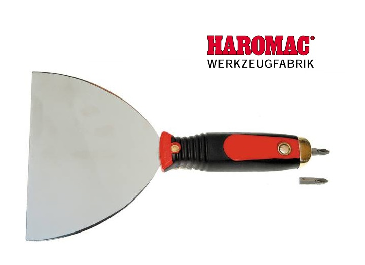 Plamuurmes met bithouder 150mm Haromac 43 221 50