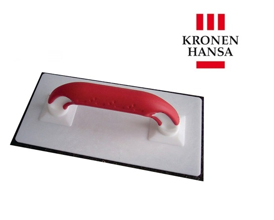 Schuurbord 280x140x10mm m.2 K-grepen, met vilt