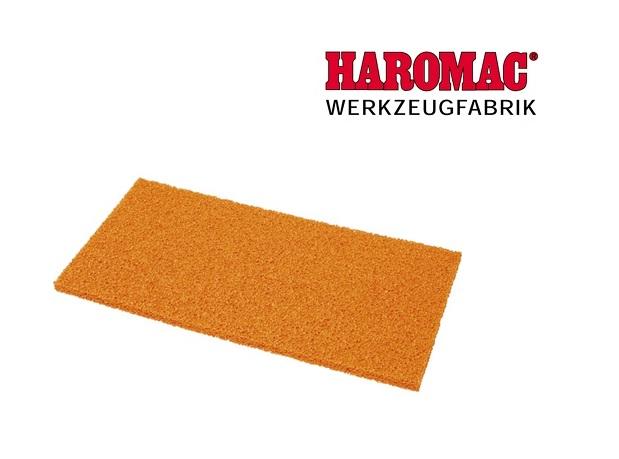 Schuimrubberlaag grof 280x140x10mm rood v.schuurbord