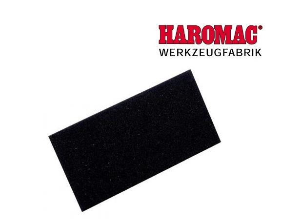 Cellenrubberlaag 280x140x10mm zwart v.schuurbord