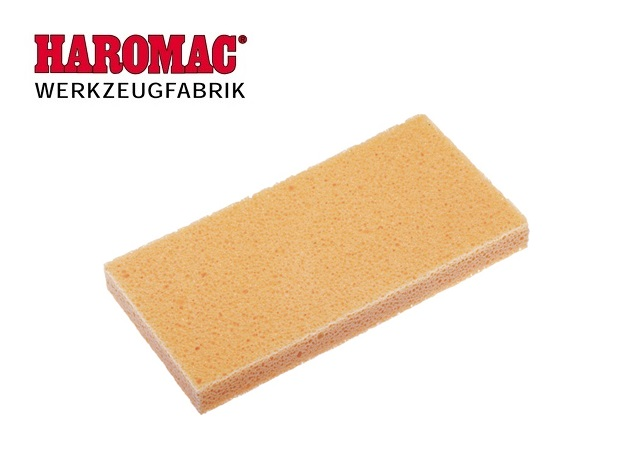 Oplegvlak van hydro-spons 280x140x30mm geel v.schuurbord