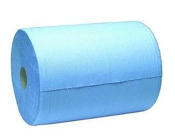 Papierrol 2-lgs blauw 22cm x380mtr