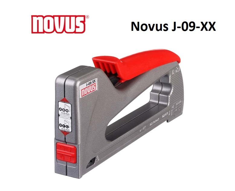 Novus J-09-XX professionele tacker 6-8 mm