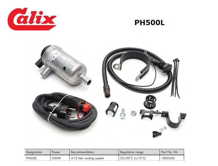 PH500L Kit 500W 4-12 liter cooling system 25/50°C (+/-5°C)