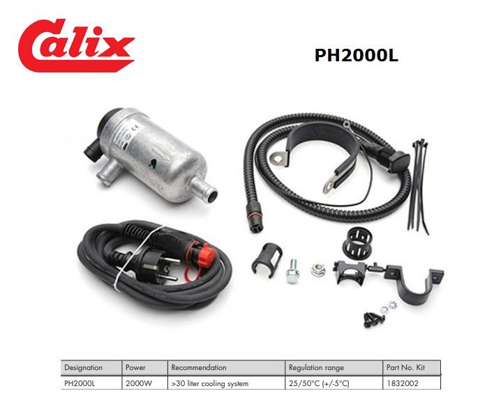 PH2000L Kit 2000W 30 liter cooling system 25/50°C (+/-5°C)