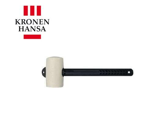 Tegelhamer L.110mm B.80mm wit m. kunststof veiligheidssteel
