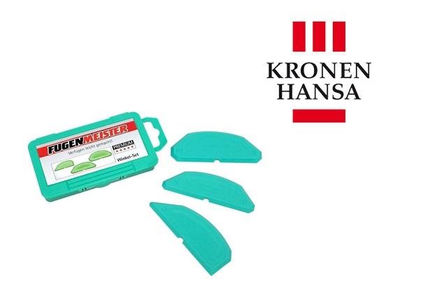 Hoeksjabloon Fugenmeister in displaykarton set van 3