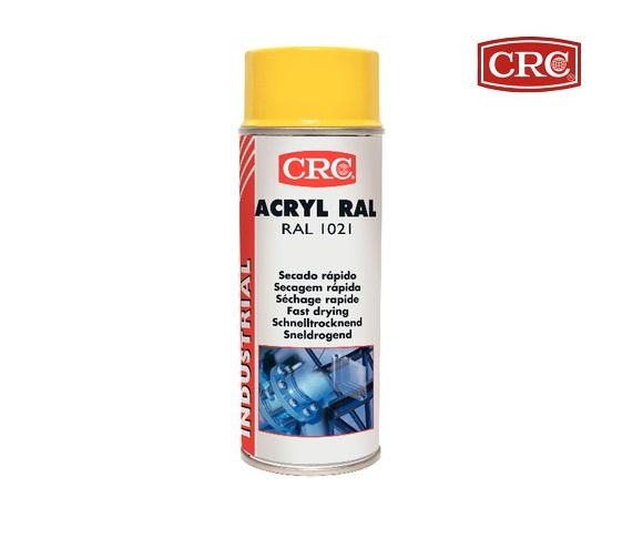 Acrylspray 400ml RAL 1021 Koolzaadgeel hoogglans CRC 11679