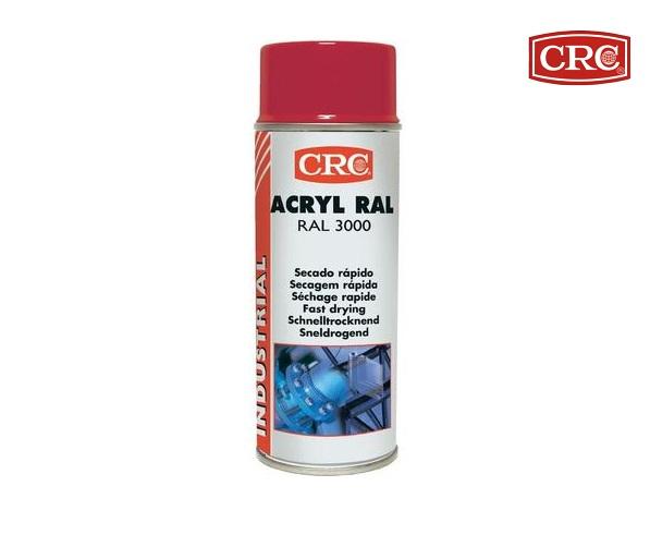 Acrylspray 400ml RAL 3000 Vuurrood hoogglans CRC 11678