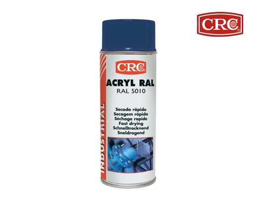 Acrylspray 400ml RAL 5010 Gentiaanblauw hoogglans CRC 31068