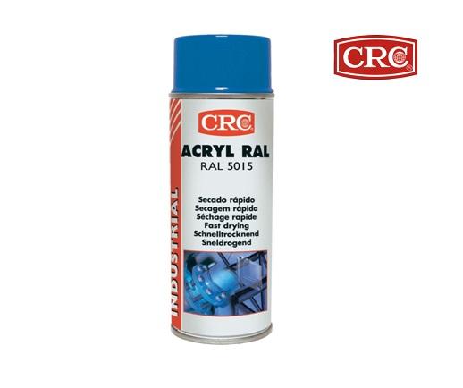 Acrylspray 400ml RAL 5015 Hemelsblauw hoogglans CRC 30476