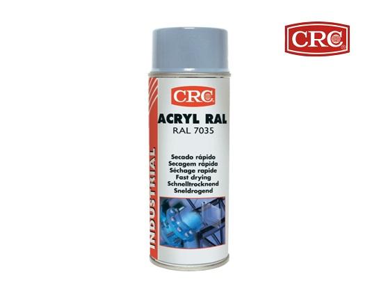 Acrylspray 400ml RAL 7035 Lichtgrijs hoogglans CRC 31079